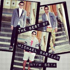 The best of Michael Bastian Nyfw ss14