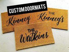 How cute are these custom mats? We do custom designs too! Insta Followers, Custom Mats, Custom Design, Instagram Posts, Etsy, Custom Rugs