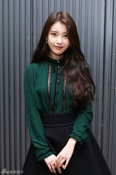 IU Korean Girl Fashion, Iu Fashion, Fashion Outfits, Kpop Girl Groups, Kpop Girls, Korean Actresses, Korean Beauty, Ulzzang Girl, Korean Singer