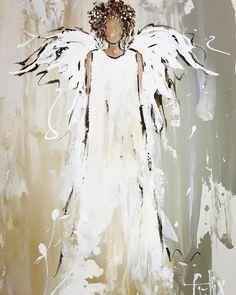 from // Anita Heyneke-Felix Kreative Portraits, Angel Artwork, Angel Pictures, Christmas Paintings, Painting Videos, Christian Art, Pictures To Paint, Wedding Dress Styles, Christmas Angels