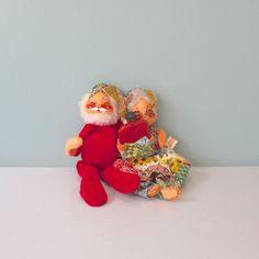 Annalee Dolls Annalee Mobilitee Dolls Santa and by AnnataStyle