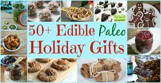 Need gift ideas? Check out this roundup of delicious edible Paleo holiday gifts. Even your non-paleo buddies will appreciate these yummy, homemade treats!