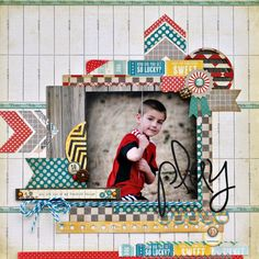 A Project by hogansmom from our Scrapbooking Gallery originally submitted at AM Miss Caroline Dilly Dally Kids Scrapbook, Scrapbook Paper Crafts, Scrapbook Albums, Scrapbook Cards, Scrapbook Photos, Scrapbook Sketches, Scrapbook Page Layouts, Album Vintage, Album Diy