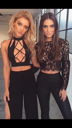 3dc28402682 865 Best Crop top outfits images in 2019 | Fashion clothes, Woman ...