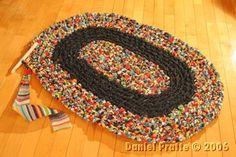 tuto tapis du découpage au crochetage
