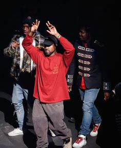 3853c8b5c Kanye West At MSG Yeezy Season 3 Premiere Wears The Life of Pablo Merch And  Yeezus