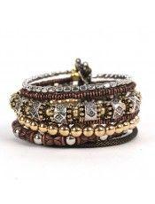 Treska Coil Bracelet $38