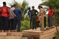 Komandan Satgas Penanggulangan Kebakaran Hutan Kunjungan Kerja ke Kabupaten Bengkalis - Amanah Anak Negeri