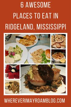Ridgeland is one darned tasty place, only minutes from Mississippi's capital city of Jackson. In this sophisticated town, Taylor (my oldest daughter) and I had the opportunity to sink our teeth into some tantalizing and creative meals, prepared with great South Usa, Delicious Restaurant, Yummy Food, Tasty, Food Tasting, Charleston Sc, Creative Food, Foodie Travel, Kitchens