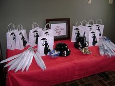 Mary Poppins birthday bash... cause a spoon full of sugar helps the medicine go down....