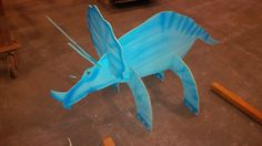 Dino party decorations carton triceratop