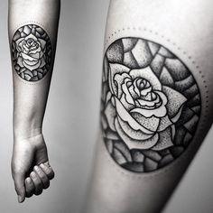 Flowers Tattoo by Kamil Czapiga | Tattoo No. 12328