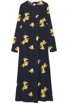 Marni - Printed crepe maxi dress