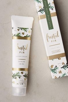 Illume Holiday Hand Cream Packaging - anthropologie.com