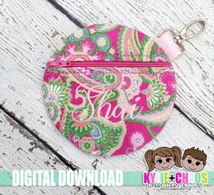ITH Zippered Pouches come in 5x7, 6x10, and 7x12 sizes. Stitch chart with PDF Tutorial included. Formats included: PES, JEF, DST, EXP, HUS, XXX, VIP, VP3 You are purchasing a digital machine embroidery file, not a physical product! Due to the digital nature of these designs I do not offer refunds. Please make sure you are not purchasing a duplicate item to what you already own. You MUST have an embroidery machine to use these designs, a way to unzip the files, and a way to get them to you...