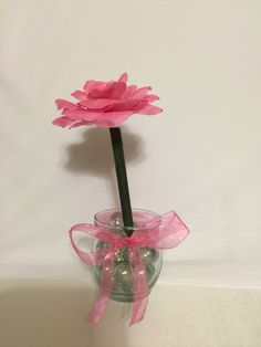 NEW** Rose Flower Pen Pot Singles by DivineLionessDesigns on Etsy
