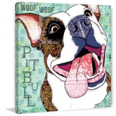 11x14 Pit Bull Seed Company Print by Stephen Fowler 8x10 Free Shipping
