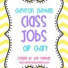 free This adorable chevron themed clip chart will be perfect for assigning/picking classroom jobs! 'Class Jobs' header and 24 job cards included.  ...