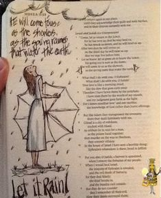 Not Just Any Bee - Doodle Art: Let It RAIN!
