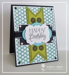 The Stamping Scrapbooker: Verve