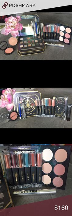 Captain Jack Sparrow's Treasure Trove💰BNIB💯Auth Captain Jack Sparrow's Treasure Trove💰Lorac & Cargo all Items Brand NEW=BNIB💯Authentic, batch numbers shown to display authenticity. Limited Edition Pirates of The Caribbean Eyeshadow &Blush Palette,Dual-Ended Lipgloss & Lipsticks:Trident, Risk It All,BarBoss-y,Ahoy Matey,MeHearts &Sparrow, PRO Promade Mascara Black, Color Source Blush in Technicolor, Behind the Scenes Eyelid Primer.Cargo Matte Bronzer, Eyeshadow Sticks in Botany Bay…