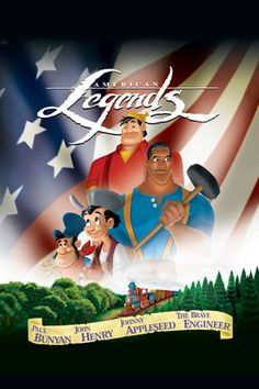 Disney's American Legends TALL TALES--Paul Bunyan, Johnny Appleseed, John Henry, and the Brave Engineer