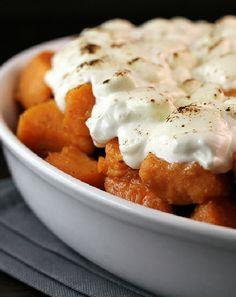 Low FODMAP and Gluten Free - Candied Pumpkin http://www.ibssano.com/candied_sweet_potato.html
