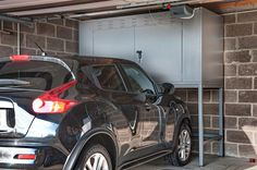 Whether it's storing a bike, organising tools and electrical equipment or finding room for the BBQ, the Garage Guardian literally raises the bar, when it comes to creating space and providing efficient storage. #Storage #Garage #OverBonnet #Home #Garden #Shed #Cycling #Bikes #Tools