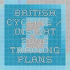 46f97b63e British Cycling   Insight Zone training plans Training Plan