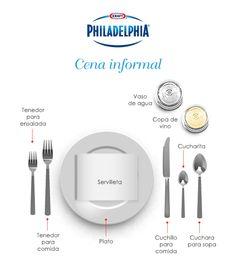 ¿No sabes cómo acomodar tu #mesa para esa cena especial?