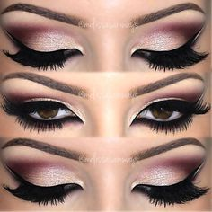 Double Winged Liner Makeup
