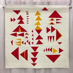 Improv quilt by Kristin Shields, QuiltCon 2015. Inspired by The Improv Handbook For Modern Quilters | Sherri Lynn Wood.