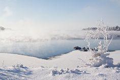 Winter by sea. Photo: Jaakko Vähämäki