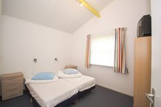 Bungalow 18 - Slaapkamer 3 - Klein Vaarwater Ameland #Ameland #vakantie #ontspannen #bungalow