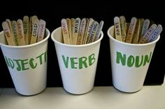 Love this! Kids sort the words, and then use them to create sentences.