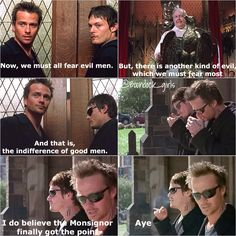 Boondock saints church scene Connor MacManus Murphy macmanus Norman Reedus Sean Patrick Flanery