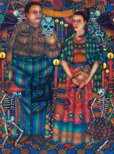 Frida Kahlo: The taste of Petrol and Porcelain | Interior design, Vintage Sets and Unique Pieces www.petrolandporcelain.com