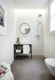 Mirror, House, Bathroom Ideas, Furniture, Home Decor, Cuisine, Round Bathroom Mirror, Colors, Mirrors
