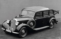 1936 Mercedes-Benz 240D, world's first diesel powered car.