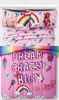 Amazing offer on Jojo Siwa Comforter Sheets Bedding Set, Pink, Multi , Full online - Nanakoshopping