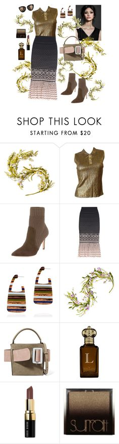 """The look!"" by waltos ❤ liked on Polyvore featuring National Tree Company, Chanel, Gianvito Rossi, Alexander McQueen, Rachel Comey, Clive Christian, Bobbi Brown Cosmetics and Surratt"