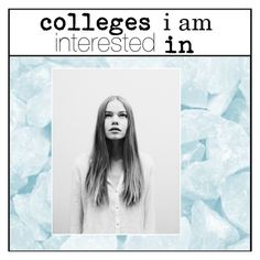 """""""colleges i am interested in"""" by treasurevxgue ❤ liked on Polyvore featuring art and zubystracking"""