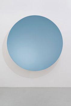 Monochrome (Silver / Oriental Blue), 2015 Fibreglass and paint