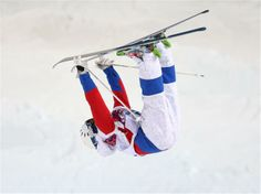 Sochi 2014 Day 4 - Freestyle Skiing Men's Moguls Finals Alexandr Smyshlyaev of Russia competes in the Men's Moguls