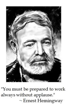 Ernest Hemingway on Character #quotes