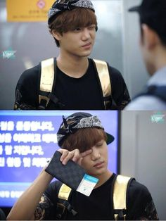 EXO KAI why r u so tired??