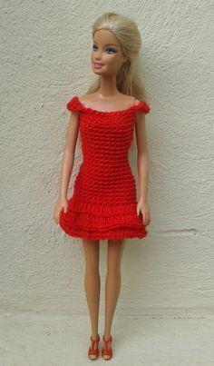 Barbie - Dress (free pattern)