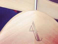Alicia Akrie Hangers :: designed by Jasmine Ellesse :: engraved by Lavene & Co. :: via dribbble