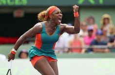 QUEEN OF MIAMI! SERENA DEFENDS SONY OPEN CROWN FOR HISTORIC TITLE #7! ... World #1 Serena Williams makes history in Key Biscayne, rallying from 5-2 down in the 1st set to def. #2-Seed Na Li 7-5, 6-1 for a 7th Miami Trophy! #SEVEN! 3/29/14 <3 #TEAMRENA!!