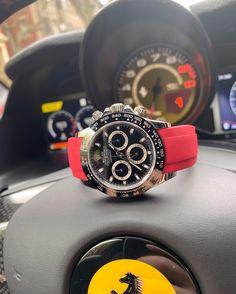 is my spirit animal 🐎 . Rolex Tudor, Swiss Made Watches, Rolex Daytona, Rolex Submariner, My Spirit Animal, Watch Bands, Watch Straps
